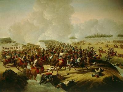 Battle Near Hanau, Schermish During Battle of Leipzig