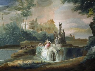 Galant Scene of Shepherds in an Imaginary Landscape