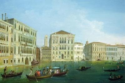 The Casa Foscari and the Palazzo Balbi, from the Grand Canal, Venice