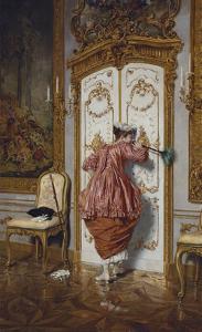 The Curious Maid by Giuseppe Brugo