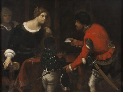 Caterina Cornaro, Queen of Cyprus, Receiving a Letter from the Council