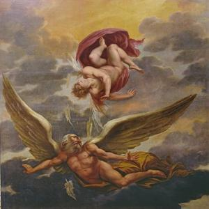 Daedalus and Icarus by Giuseppe Cesari