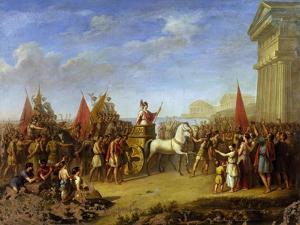 Gelon's Triumphal Entry into Syracuse, 480 BC by Giuseppe Cesari