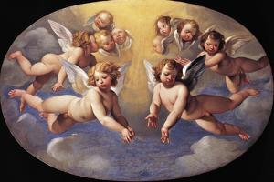 Glory of Angels by Giuseppe Cesari