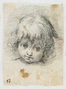 Portrait of a Child by Giuseppe Cesari