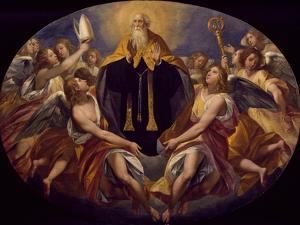 St Benedict in Glory by Giuseppe Cesari