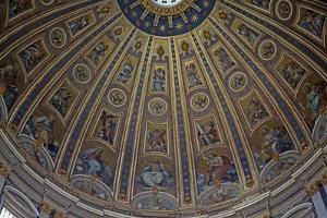 The Dome: Mosiacs by Giuseppe Cesari