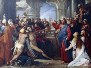 The Raising of Lazarus by Giuseppe Cesari