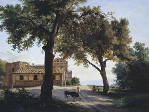 The So-Called Capodimonte Vaccheria by Giuseppe Cesari