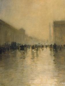 Foggy Day in London by Giuseppe De Nittis