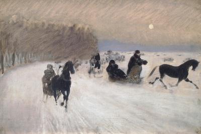 Sleigh Ride, 1880