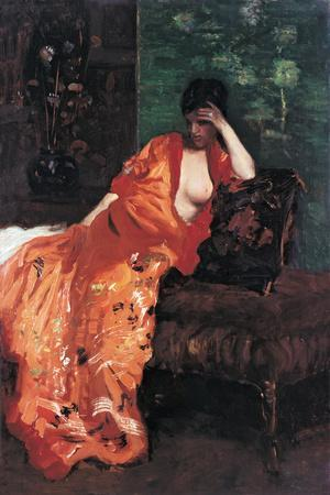 Woman on the Sofa (Donna Sul Divano)