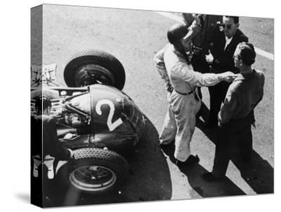 Giuseppe Farina and Alfa Romeo 159, French Grand Prix, Rheims, 1951