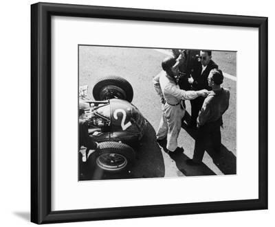 Giuseppe Farina and Alfa Romeo 159, French Grand Prix, Rheims, 1951
