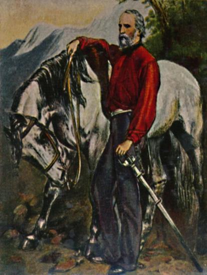 'Giuseppe Garibaldi 1807-1882', 1934-Unknown-Giclee Print