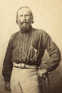 Giuseppe Garibaldi, from a 19th Century Photograph