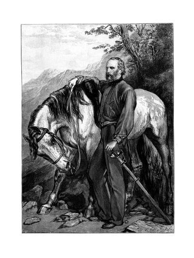 Giuseppe Garibaldi, Italian Patriot and Soldier of the Risorgimento--Giclee Print