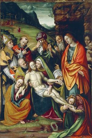 Lamentation of Dead Christ on Cross