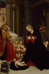 Nativity by Giuseppe Giovenone