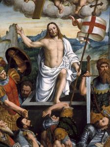 Resurrection of Jesus by Giuseppe Giovenone
