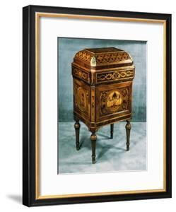 Inlaid Jewelry Box, Designed by Giuseppe Maggiolini