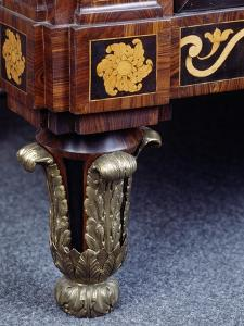 Side Panel of Chest of Drawers with Inlays and Marble Top, 1775 by Giuseppe Maggiolini