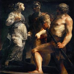 Aeneas, Sibyl and Charon, Ca. 1695 by Giuseppe Maria Crespi