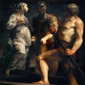 Aeneas, Sibyl and Charon, Ca. 1695 by Giuseppe Maria Crespi