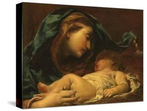 Madonna and Child by Giuseppe Maria Crespi