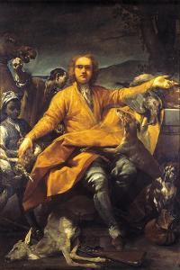 Portrait of Hunter by Giuseppe Maria Crespi