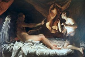 Psyche Discovers Cupid by Giuseppe Maria Crespi