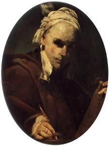 Self-Portrait, C1700 by Giuseppe Maria Crespi