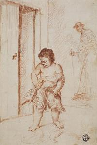Study of Two Figures, 1710-15 by Giuseppe Maria Crespi