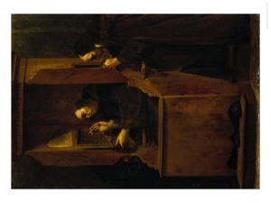 The Confession by Giuseppe Maria Crespi