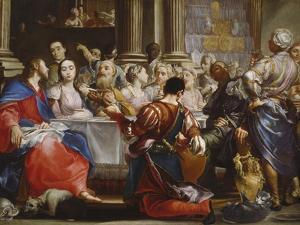 The Wedding at Cana, C.1686 by Giuseppe Maria Crespi