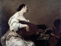 The Death of St. Joseph, C.1712-Giuseppe Maria Crespi-Mounted Giclee Print