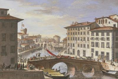 View of Livorno, New Venice District