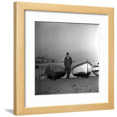 Giuseppe Marotta in Naples, 23rd November 1956