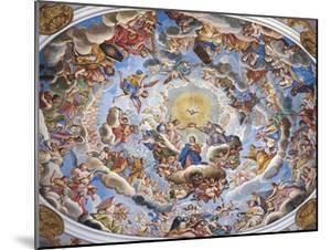Coronation of the Virgin by Giuseppe Mattia Borgnis