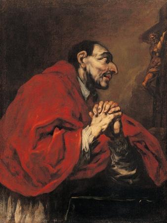 St. Charles Borromeo in Prayer