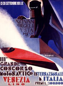 3rd Concorso Motonautico di Venezia by Giuseppe Riccobaldi