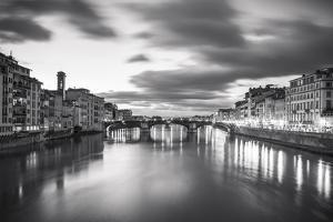 Arno in Florence by Giuseppe Torre
