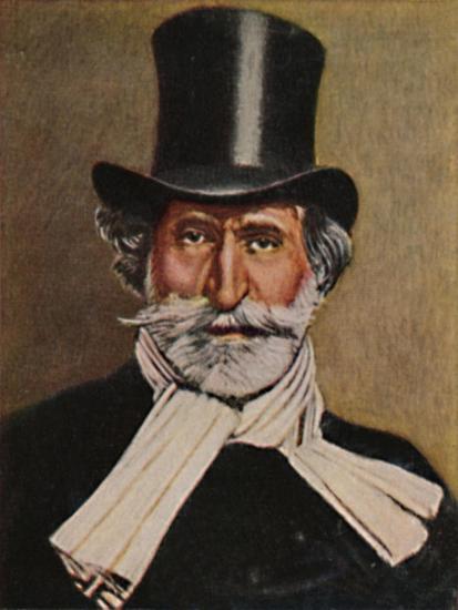 'Giuseppe Verdi 1813-1901. - Gemälde von Michel', 1934-Unknown-Giclee Print