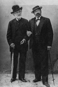 Giuseppe Verdi and Francesco Tamagno