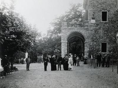 Giuseppe Verdi at His Birth House--Photographic Print