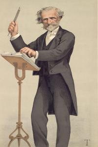 Giuseppe Verdi, Caricature from Vanity Fair