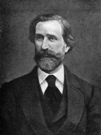 Giuseppe Verdi, Italian Composer, 1909--Giclee Print