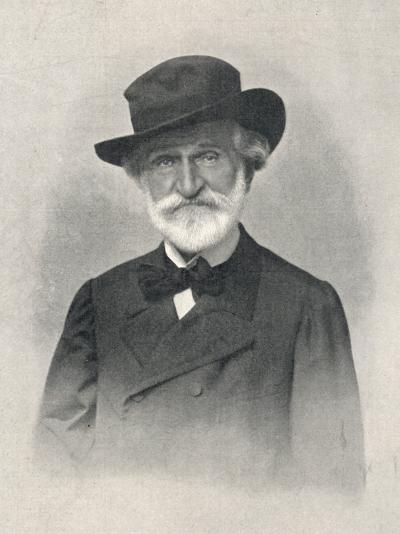 Giuseppe Verdi the Italian Opera Composer: the Last Photograph Taken of Him--Photographic Print