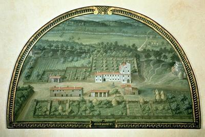 Colle Salvetti, from a Series of Lunettes Depicting Views of the Medici Villas, 1599