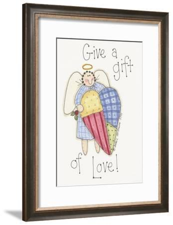 Give a Gift Angel-Debbie McMaster-Framed Giclee Print